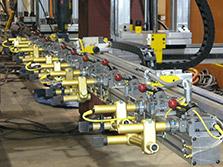 transfer press tooling rails